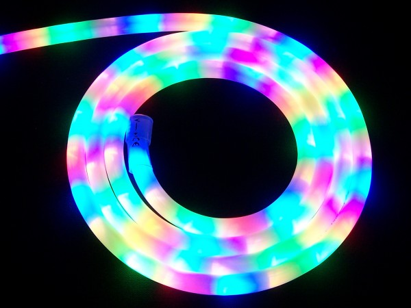 LED Schlauch Multicolor Horizontal Meterware