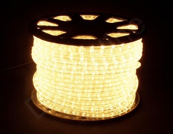 LED Schlauch Warmweiß Vertikal 50m Rolle