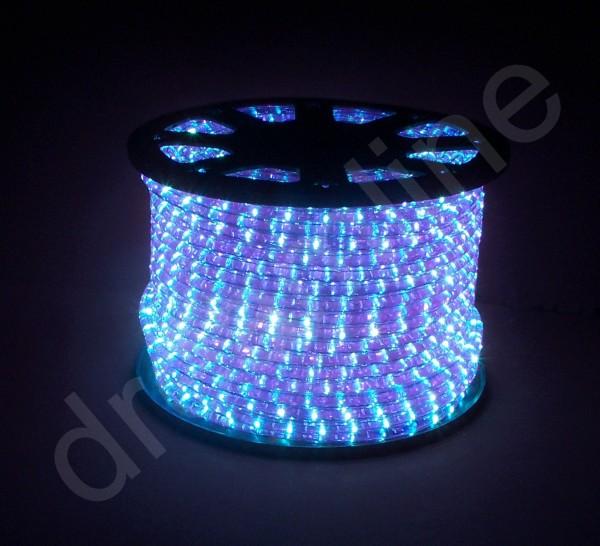 LED Schlauch Blau Vertikal Meterware