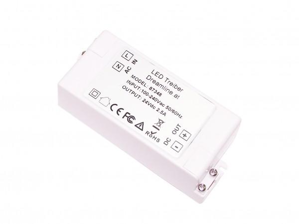 LED Treiber Kompakt - Netzteil max. 60W - 24V
