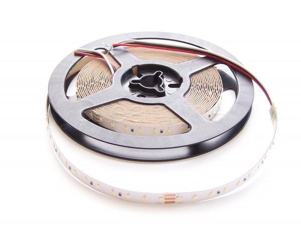 Farbtemperatur LED Stripe 500cm Indoor 600 LEDs 2216 IP20 24V HighCri - Dualwhite
