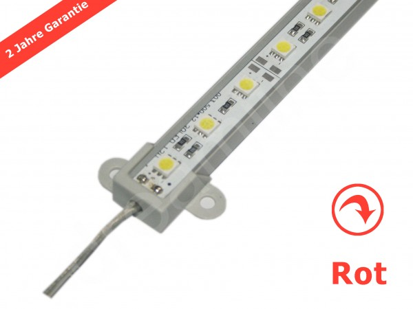 Starre LED Leiste 12V 50cm in Rot