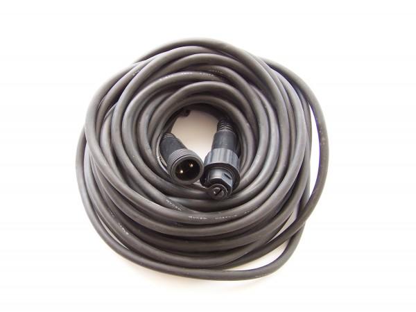 Verlängerung 10m schwarz für LED Lichtervorhänge, LED Lichterketten und LED Giebelvorhänge