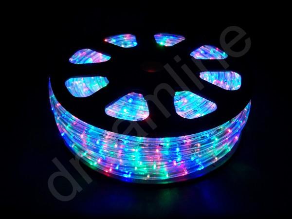LED Schlauch Multicolor Vertikal 50m Rolle