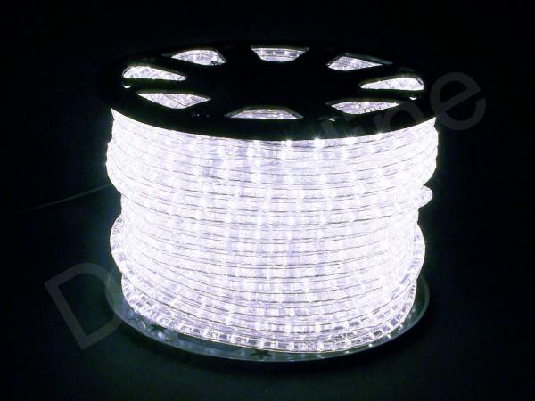 LED Schlauch Kaltweiß Horizontal 50m Rolle