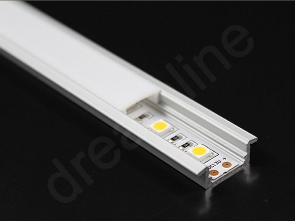 LED Alu Profil Einbau STM7 OHNE LED Stripes