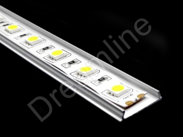 LED Alu Profil Biegbar OHNE LED Stripes