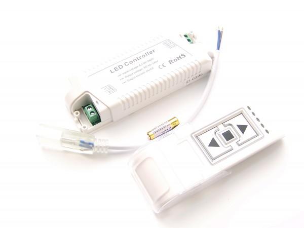 Funk Dimmer für 230V DC LED Stripes 5050/5060 mit Litzen