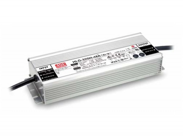 Dimmbares 24V Meanwell Netzteil 320W HLG-320H-B 3in1 IP67