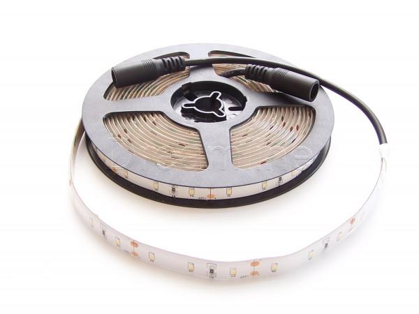 LED Stripe 2216 500cm 300 LEDs Warmweiß IP65 mit beidseitigen DC Steckern und hohem Farbwiedergabewert