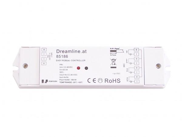 Dreamline Profi RGB-W-WW receiver in 12V / 24V