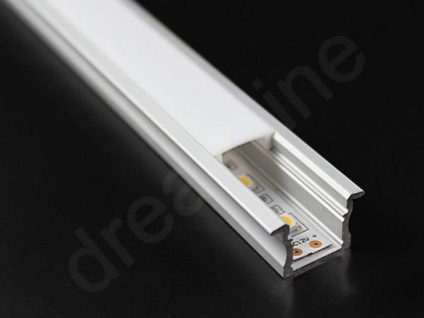 LED Alu Profil Einbau STM15 OHNE LED Stripes