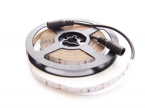 LED Stripe 2216 500cm Neutralweiß IP20 mit beidseitigen DC Steckern und High Cri